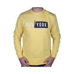 Cazador Erkek Sarı Bisiklet Yaka Sweatshirt 20KCEEO05072