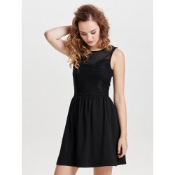 ONLY 15126173 INIELLA BLACK ELBİSE